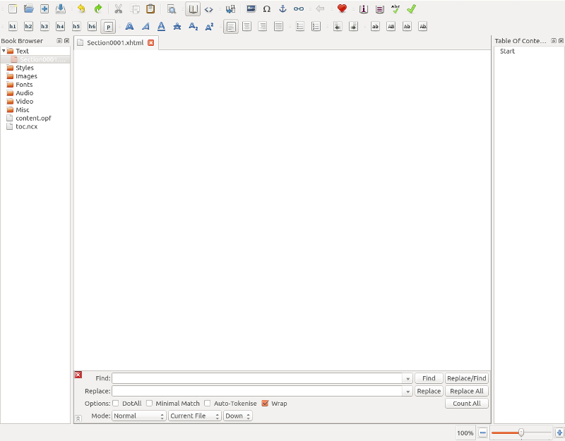 Blank Sigil page