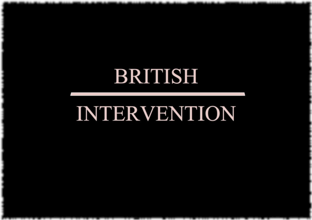 British Intervention