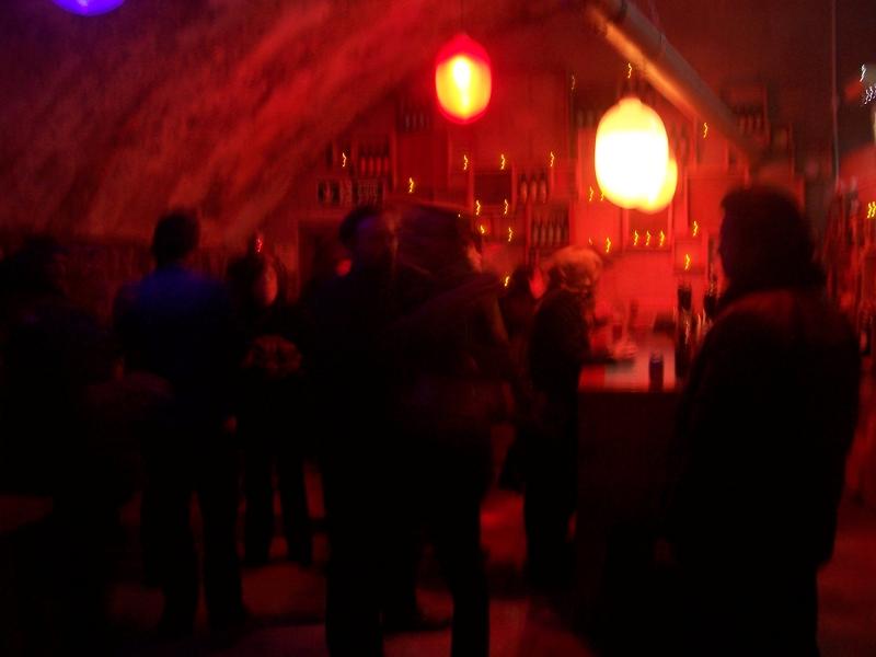 Inside First Chop Brewery
