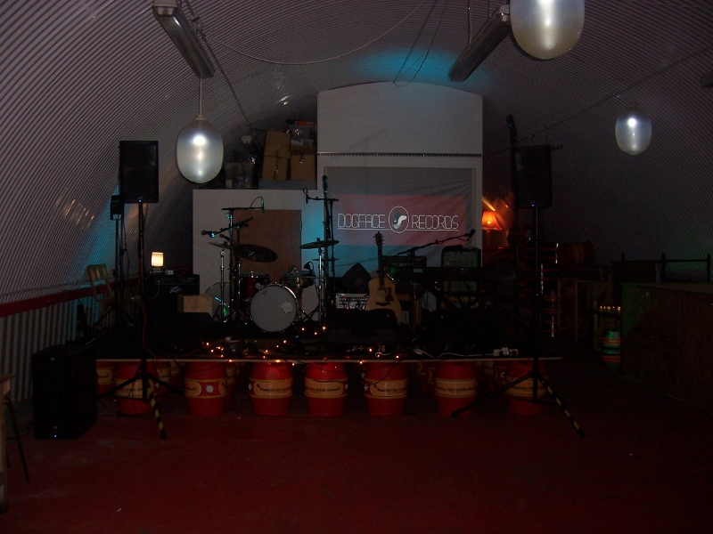 Dogface Records Stage