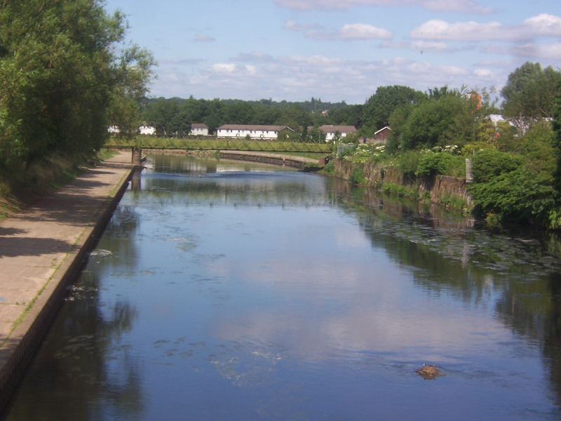 A relaxing view of the canal