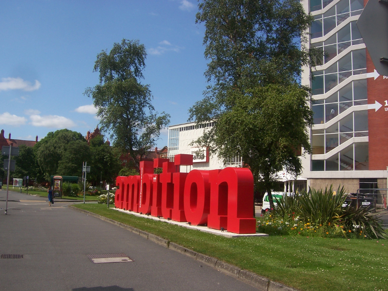Salford University Ambition : Enough Said!