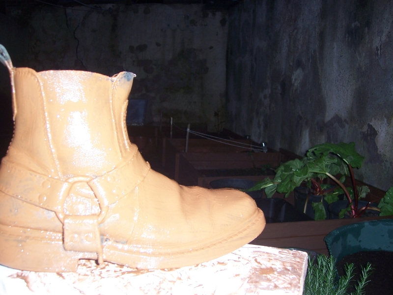 Guerrilla old boot