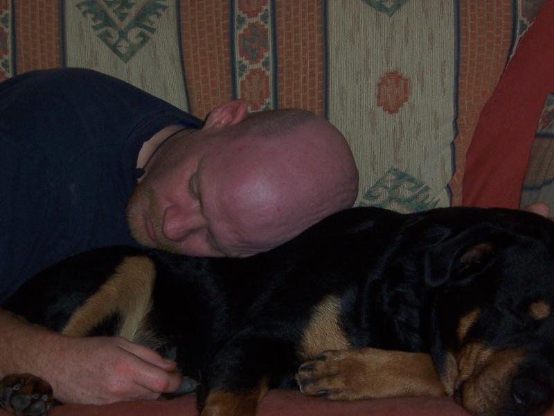 Snoring away