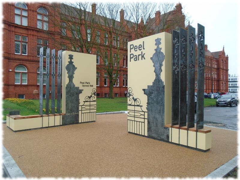 Peel Park Ducie Gates