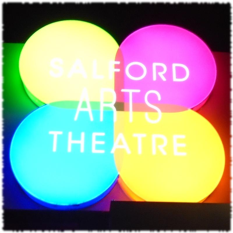 Salford Arts Theatre Sign