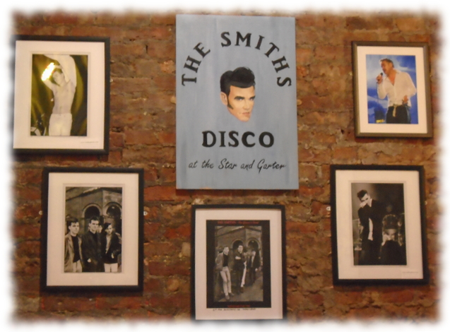 The Smiths Disco Wall at The Star and Garter Manchester