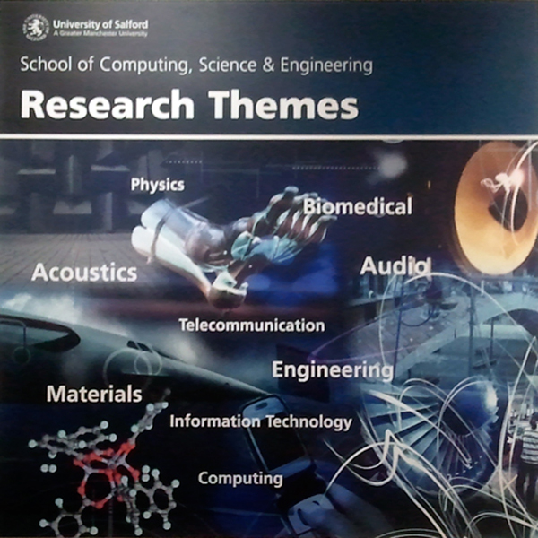 Salford University Research Themes Poster