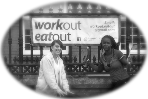Follow WorkOut EatOut via Twitter