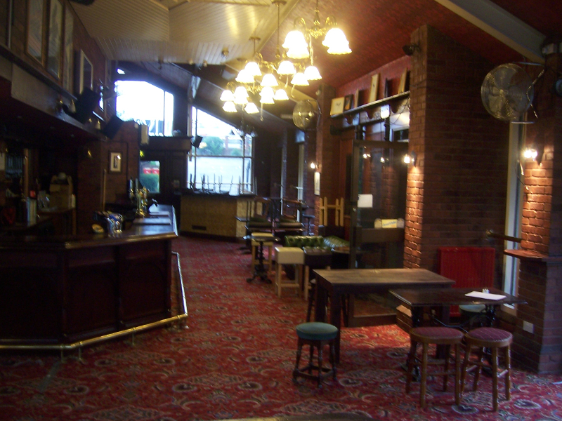 Upstairs at The Old Pint Pot Salford
