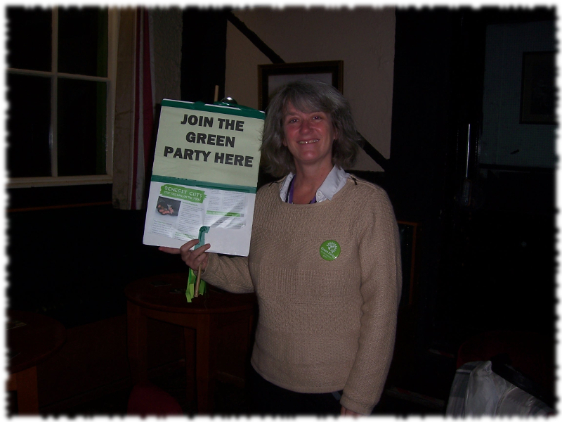 Wendy Olsen Salford Green Party